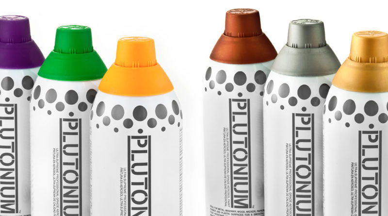 The new interesting developments in spray paint industry – PLUTONIUM spray paint