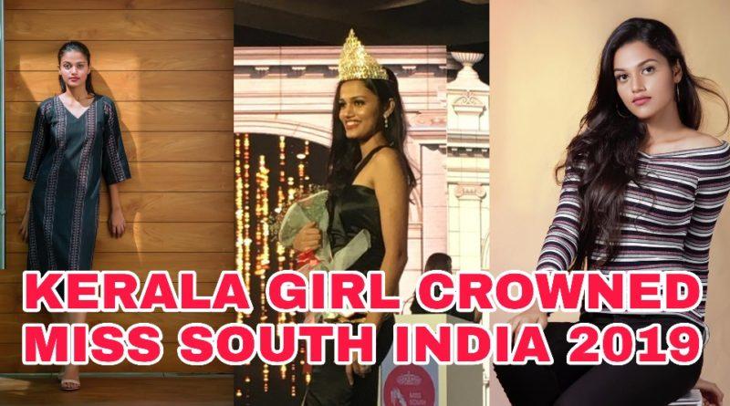 KERALA'S PRIDE NIKITA THOMAS CROWNED MISS SOUTH INDIA 2019